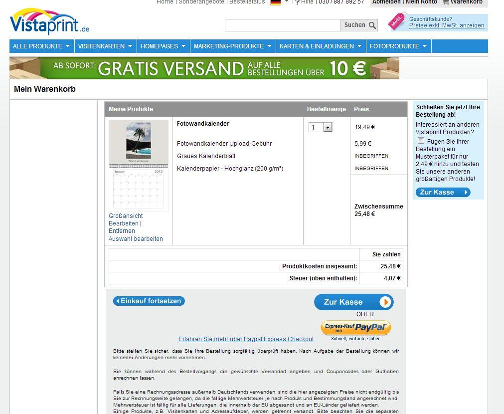 vistaprint_warenkorb